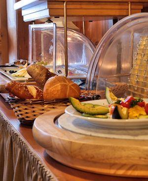 Abwechslungsreiches Frühstücksbuffet